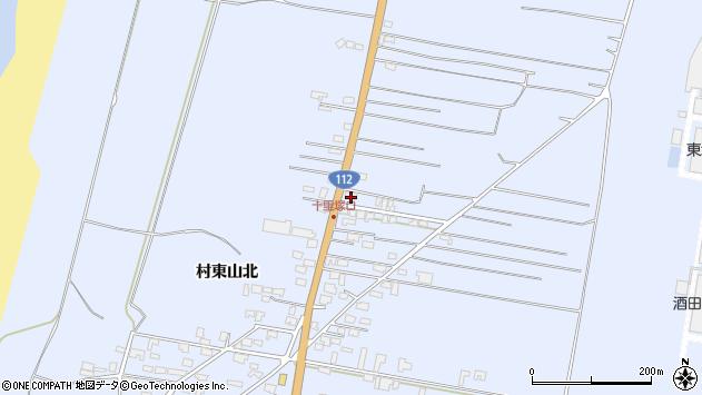山形県酒田市十里塚村東山北91周辺の地図