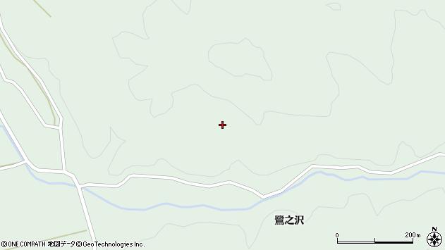 山形県酒田市田沢八森周辺の地図