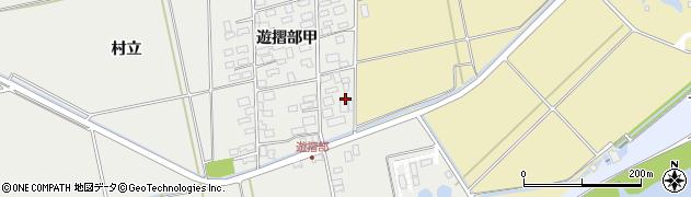 山形県酒田市遊摺部村立132周辺の地図