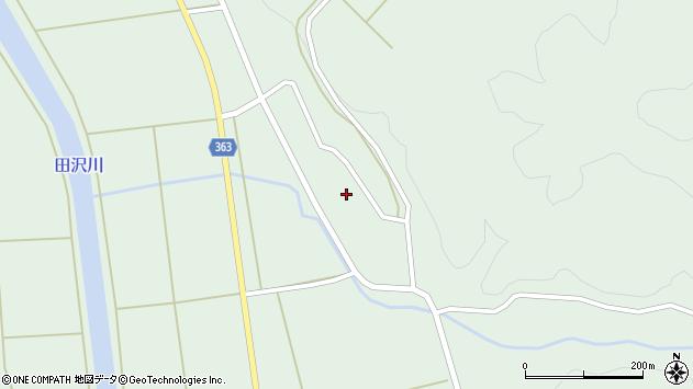 山形県酒田市田沢下タ村91周辺の地図