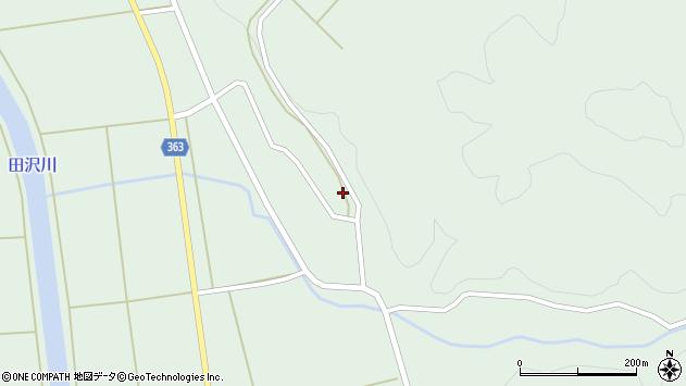 山形県酒田市田沢下タ村16周辺の地図