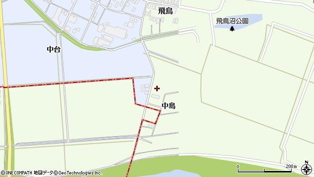 山形県酒田市飛鳥中島8周辺の地図