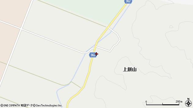 山形県酒田市上餅山元山53周辺の地図