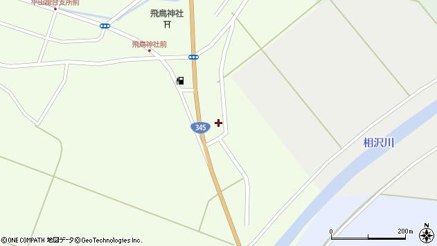山形県酒田市飛鳥大林433周辺の地図