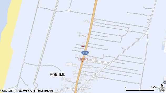 山形県酒田市十里塚村東山北103周辺の地図