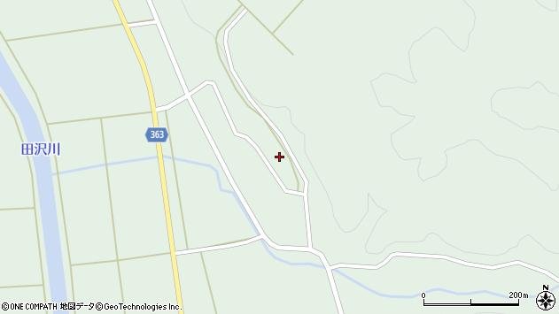 山形県酒田市田沢下タ村17周辺の地図