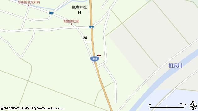 山形県酒田市飛鳥大林426周辺の地図