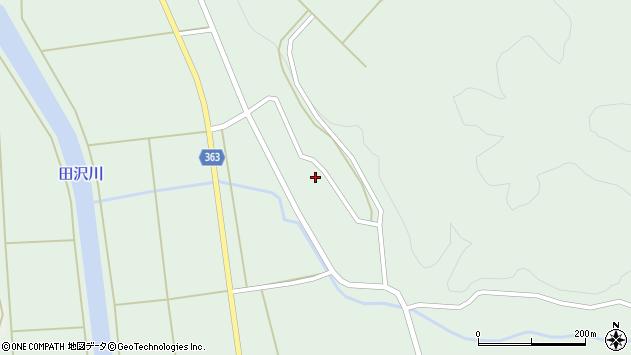 山形県酒田市田沢下タ村38周辺の地図