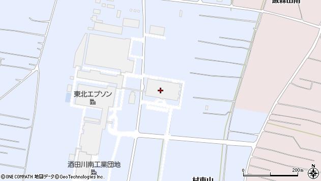 山形県酒田市十里塚村東山166周辺の地図