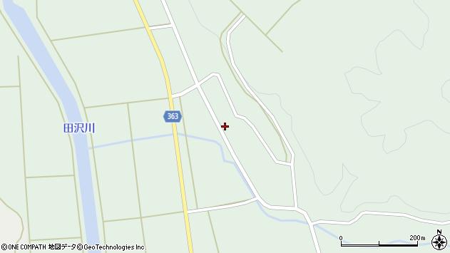 山形県酒田市田沢下タ村34周辺の地図