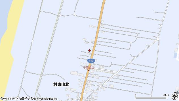 山形県酒田市十里塚村東山北110周辺の地図