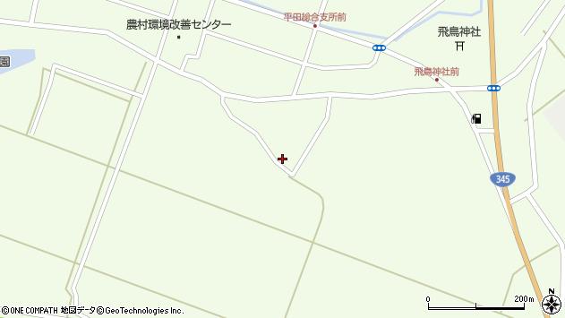 山形県酒田市飛鳥神内297周辺の地図