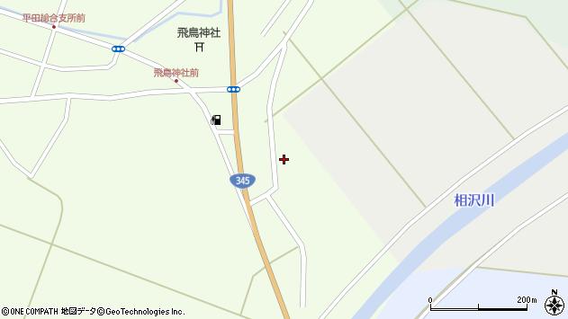 山形県酒田市飛鳥大林717周辺の地図