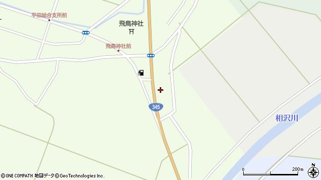 山形県酒田市飛鳥358周辺の地図