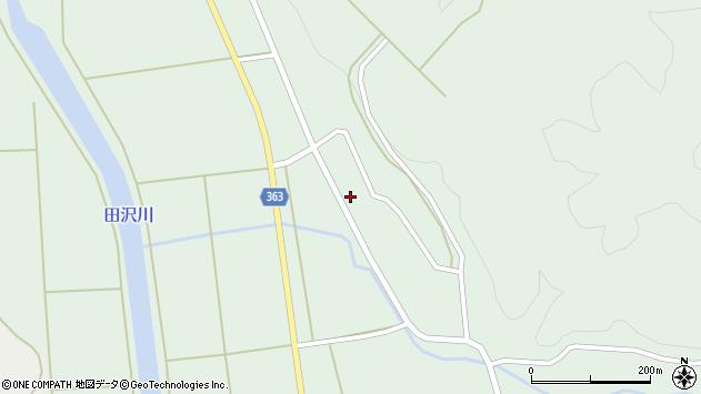 山形県酒田市田沢下タ村33周辺の地図