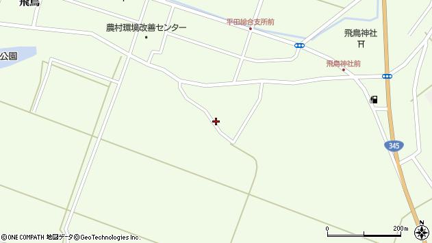 山形県酒田市飛鳥神内300周辺の地図