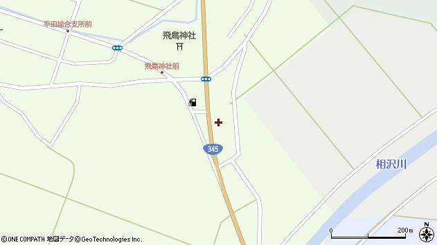 山形県酒田市飛鳥大林360周辺の地図