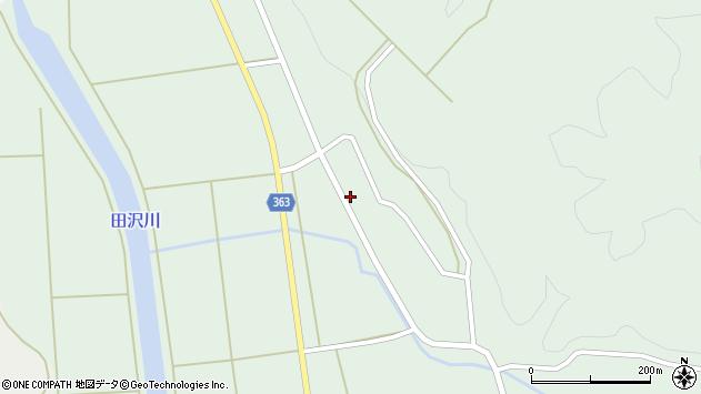 山形県酒田市田沢下タ村116周辺の地図