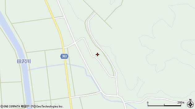 山形県酒田市田沢下タ村21周辺の地図