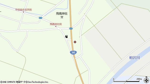 山形県酒田市飛鳥大林367周辺の地図