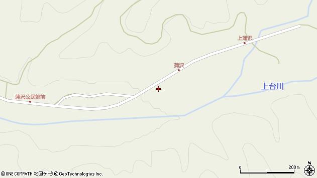 山形県最上郡金山町金山1264周辺の地図