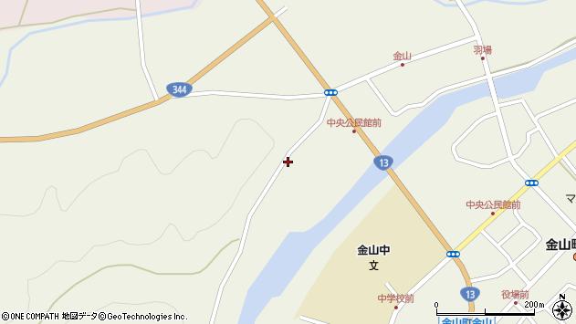 山形県最上郡金山町金山937周辺の地図