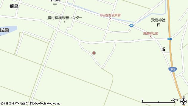 山形県酒田市飛鳥301周辺の地図