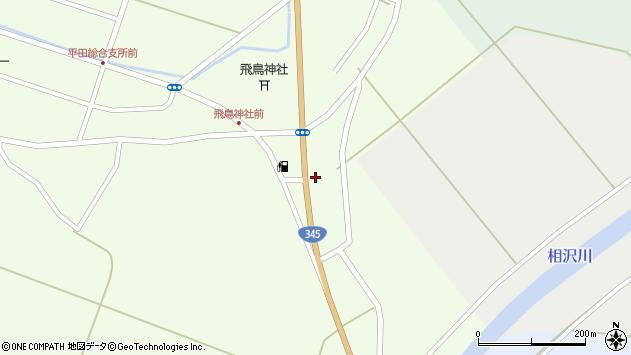 山形県酒田市飛鳥374周辺の地図
