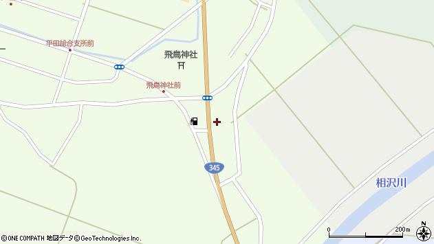 山形県酒田市飛鳥378周辺の地図