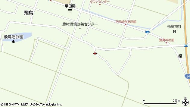 山形県酒田市飛鳥333周辺の地図