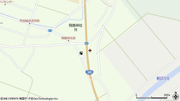 山形県酒田市飛鳥385周辺の地図