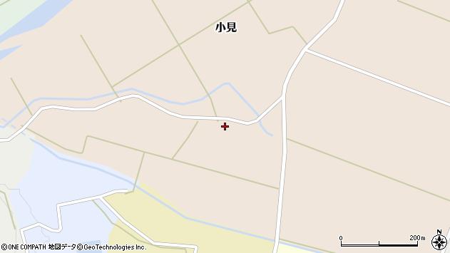 山形県酒田市小見岡畑26周辺の地図