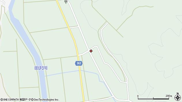 山形県酒田市田沢下タ村130周辺の地図