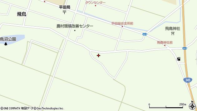 山形県酒田市飛鳥324周辺の地図
