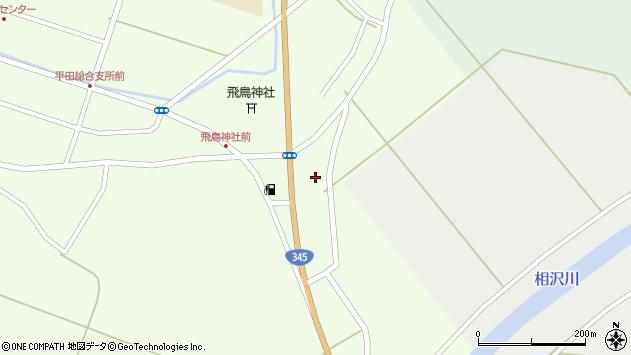 山形県酒田市飛鳥387周辺の地図