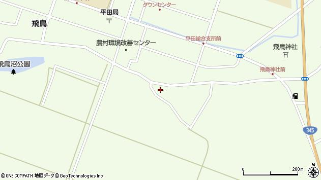 山形県酒田市飛鳥326周辺の地図
