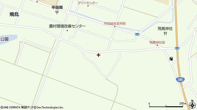 山形県酒田市飛鳥304周辺の地図
