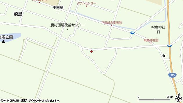 山形県酒田市飛鳥319周辺の地図