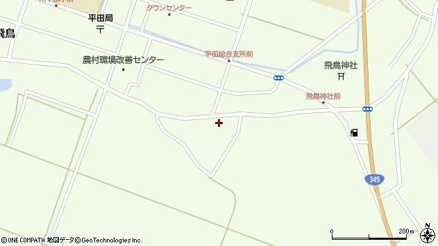 山形県酒田市飛鳥神内265周辺の地図