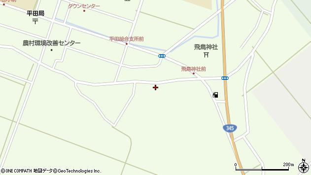 山形県酒田市飛鳥155周辺の地図