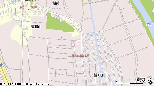 山形県酒田市坂野辺新田東狢山603周辺の地図