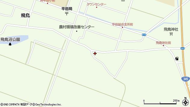 山形県酒田市飛鳥328周辺の地図