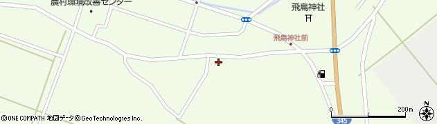 山形県酒田市飛鳥161周辺の地図