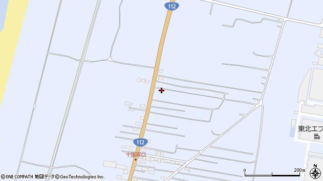 山形県酒田市十里塚村東山北134周辺の地図