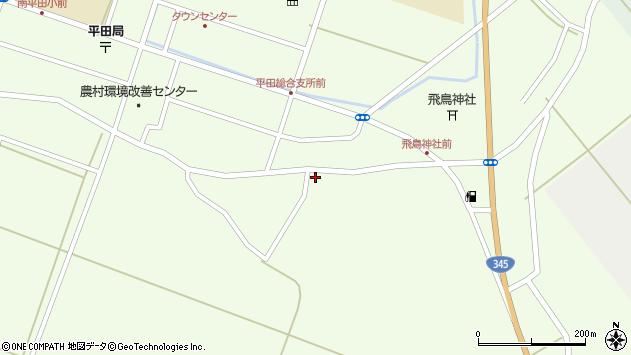 山形県酒田市飛鳥162周辺の地図