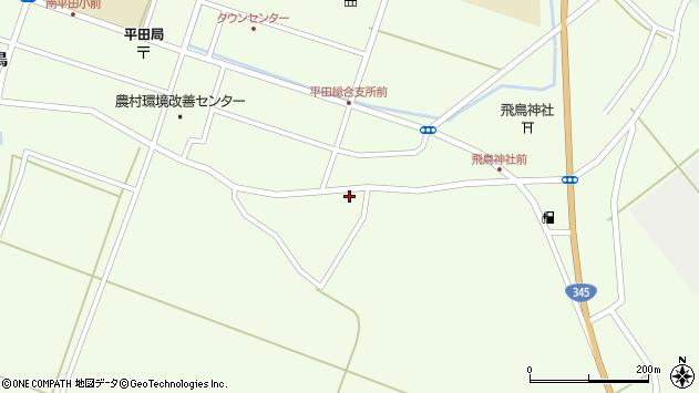 山形県酒田市飛鳥261周辺の地図