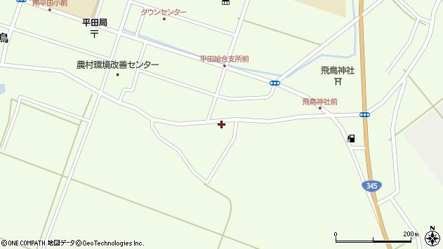 山形県酒田市飛鳥264周辺の地図