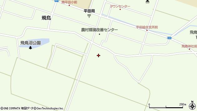 山形県酒田市飛鳥中島周辺の地図
