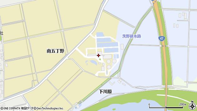 山形県酒田市小牧南五丁野周辺の地図