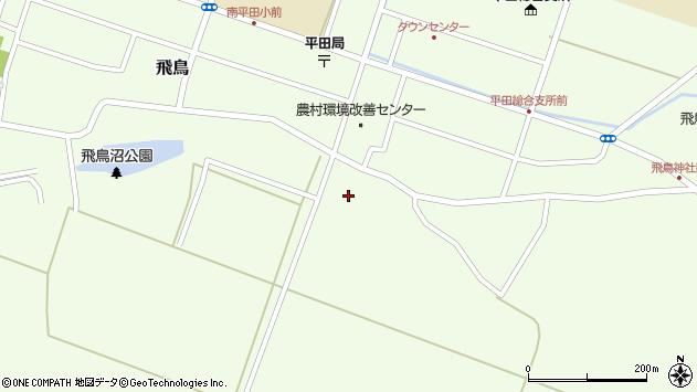 山形県酒田市飛鳥中島3周辺の地図